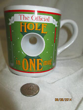 Collector's Golf Hole in One Official Fun Novelty Mug Cup for Coffee Tea Papel