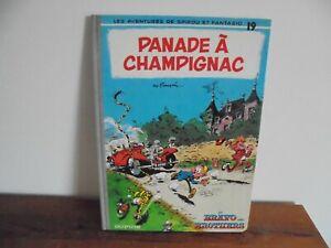 FRANQUIN/ SPIROU ET FANTASIO/ T19/ PANADE A CHAMPIGNAC/ 1983