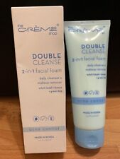 The Creme Shop Double Cleanse 2-in-1 Facial Foam, Cleanser+Remover (EXP 11/20)