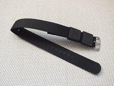 Original Zuludiver Nylon Divers watch strap Black / brushed Buckle 18mm