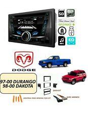 DODGE 1997-2000 DURANGO, 1998-2000 DAKOTA STEREO KIT, BLUETOOTH CD/USB/AUX/FM