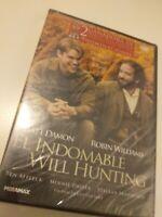Dvd  el indomable will hunting (precintado nuevo)