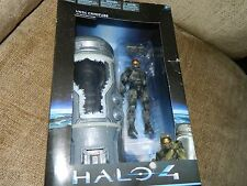 """halo 4 unsc cryotube with master chief series1  bnib """"very rare """" uk seller"""