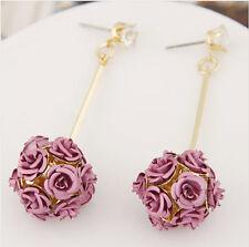 MARNI H&M Pink Flower  Earrings