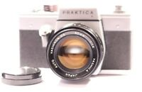 PRAKTICA L SLR Film Camera With Yashica Auto Yashinon-DS 50mm 1:1.4 Lens
