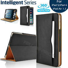 New Soft Leather Wallet Stand Case Smart Cover&Pocket Pouch for iPad Air 1 Air 2