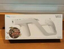 New, Open Box Original White Nintendo Wii Zapper w/ Link's Crossbow Training