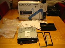 Kenwood Bluetooth Stereo KDC-BT30 (USED) in box