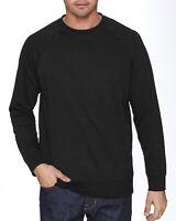 Next Level Apparel Unisex French Terry Raglan Crew N9000 Long Sleeves T-Shirt