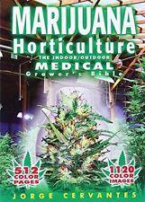 Marijuana Horticulture by Jorge Cervantes, Paperback Cannabis Growing Guide