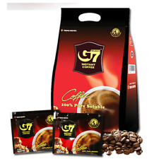 G7 Trung Nguyen Black Coffee 200g(100pcs X 2g) Vietnam Coffee Pure Soluble Cheap