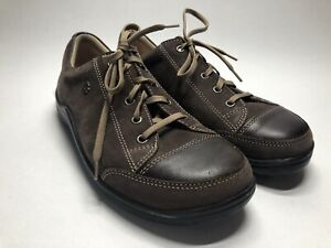 Finn Comfort Brown Leather Sneakers Shoes Germany - EU 37 US Women's 6-6.5