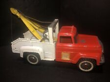 VINTAGE HUBLEY MIGHTY METAL TOW TRUCK WRECKER NICE!