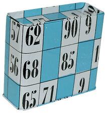 Tin Money Saving Box Bingo Themed