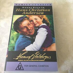 DANNY KAYE - HANS CHRISTIAN ANDERSEN - MUSICAL - PAL VHS Video - LIKE NEW