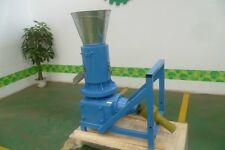 Small Industrial Pellet Mill ROLLER ROTATING PTO 370 kg/H Pellet Perss Factory