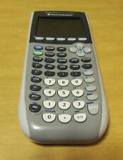 Texas Instruments Ti-84 Plus Silver Edition Graphing Calculator ~ Works but Read