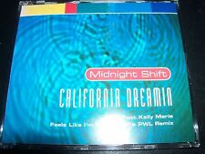 Midnight Shift California / Kelly Marie Feels Like I'm In Love PWL Mixes CD Sing