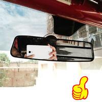 1 Piece Universal Car Auto Wide Flat Interior Rear View Mirror Suction Stick CL