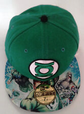 New Era 59Fifty Green Lantern Team Fitted Hat-New Old Stock - 7 1/8 - 2010