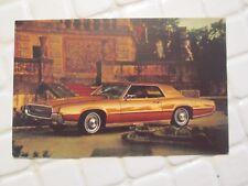 Vtg 1967 FORD Thunderbird 2-Door Hardtop Ahead Ford Dealer Unused Postcard nr