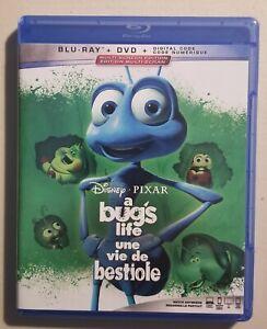 A Bug's Life (1998) Blu-Ray DVD Disney Pixar **Like New** No DC Code (U1)