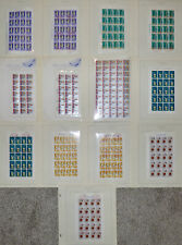 Collection of Possession Stamp Sheets From Ryukyu Islands Lot 1