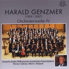 HARALD GENZMER : ORCHESTERWERKE IV / CD (THOROFON CTH 2560) - NEU