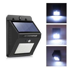 25 LED Solarleuchte Solarlampe mit Bewegungsmelder Außen Fluter Außenleuchte DHL