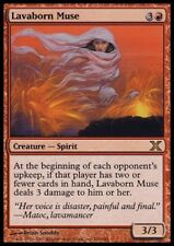MTG 4x LAVABORN MUSE - 10th *Rare Spirit Damage*
