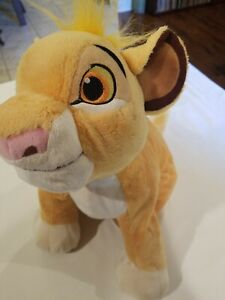 "DISNEY STORE - THE LION KING - SIMBA - PLUSH TOY 17"" - MEDIUM - STUFFED ANIMAL"