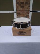 "Orange County Drum and Percussion 4.5""x13""Piccolo Snare Drum Black Steel Used"