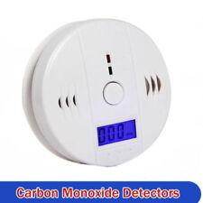 CO Carbon Monoxide Detector Poisoning Gas LCD Alarm LED Sensor for Home Security
