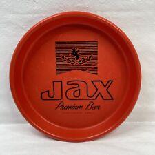 Jax Premium Beer Red 13 Inch Plastic Tray New Orleans La Jackson Brewing Company