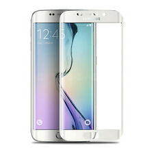 3D Full Curved Tempered Glass Screen Protector for Samsung Galaxy S7 Edge -WHITE