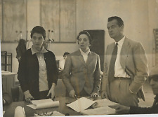 Elda Albertini, Isabella Riva e Roberto Villa Vintage silver print,Isabella Ri