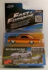 1970 '70 PLYMOUTH ROAD RUNNER DOMS FAST & FURIOUS MOVIE CAR JADA DIECAST 1:55