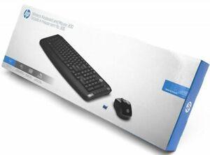 GENUINE HP CORDLESS WIRELESS KEYBOARD MOUSE 300 DESKTOP CLASSIC COMBO 3ML04AA