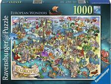 RAVENSBURGER PUZZLE*1000 TEILE*EUROPEAN WONDERS*RARITÄT*NEU+OVP