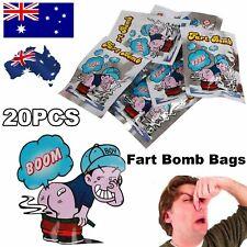 10 x Fart Bomb Bombs Bag Very Smelly Novelty Stink Prank Gag Trick Joke Game Fun