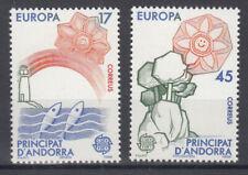 Briefmarken Europa Andorra (sp.. Post) CEPT ** 1986 Michel 188-189 Versand 0 EUR