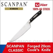 NEW Scanpan Classic Forged Cook's Knife 20cm RRP $89.95, German knife Steel.
