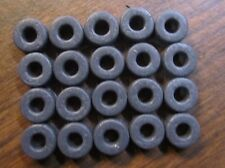SLOT CAR HO SCALE ( 15 PR SILICONE TIRES FITS AURORA T-JET TUFF ONES ) NEW BLEMS