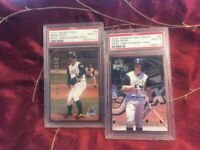 2002 GRANDSTAND WEST TENNESEE DIAMOND JAXX MARK PRIOR ROOKIE PSA 10 (Lot of 2)