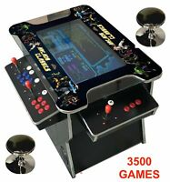 ✅ 4 PLAYER Cocktail Arcade Machine🔥3500 Classic Games ✅ 26.5 INCH SCREEN LG !!