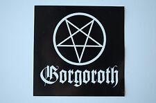 Gorgoroth Sticker Decal (231) Black Metal Hellhammer Death Immortal Emperor