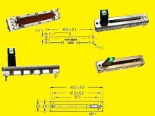 Poti Schiebe Slide Potentiometer with Green LED  Mono 10k OHM 20%  linear 1x