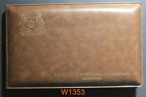 Singapore 1981 Mint Set YEAR OF THE ROOSTER original case case has some wear