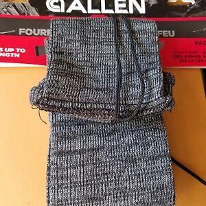 "Allen Silicone Treated Gun Sock Sleeve For Rifle Shotgun Guns Up To 52"" Gray 131"