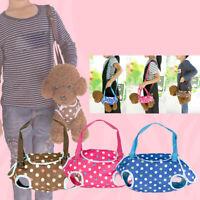 KQ_ HB- Pet Dog Carrier Backpack Outdoor Breathable Leg Out Shoulder Hand Bag No